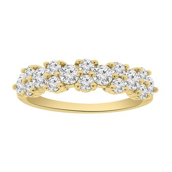 1ct tw Diamond Anniversary Ring in 14K Yellow Gold