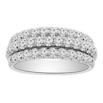 1ct tw Diamond Fashion Ring in 18K White Gold