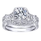 1 1/4ct tw Diamond Engagement Ring in 18K White Gold