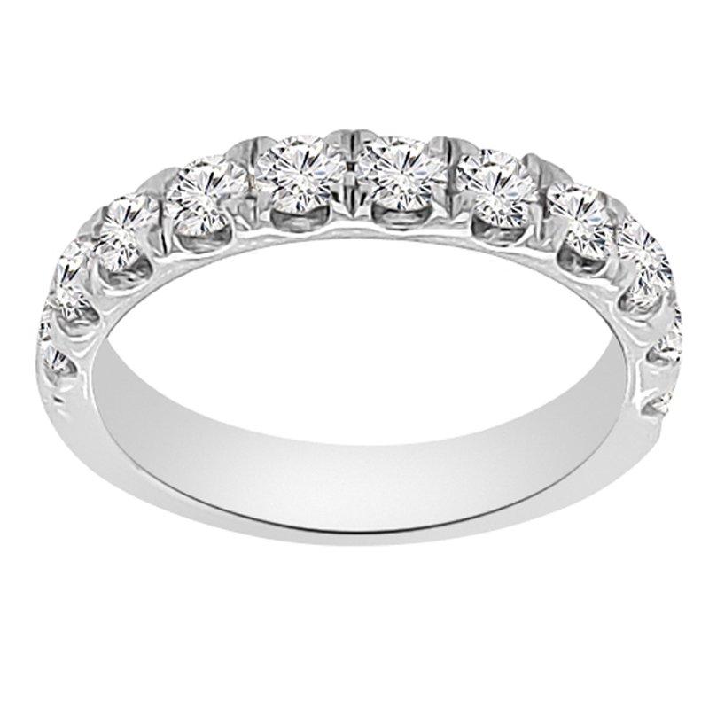 1ct tw NewBorn Lab Created Diamond Wedding Ring in 14K White Gold