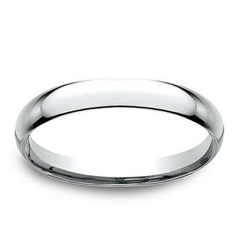 2.5mm Wedding Ring in 14K White Gold