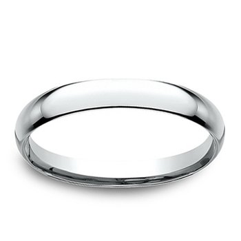 2.5mm Wedding Ring in 14K White Gold