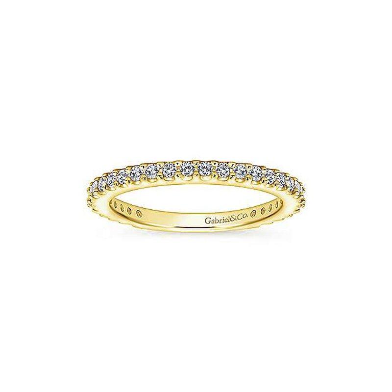 3/8ct tw Diamond Wedding Ring in 14K Yellow Gold
