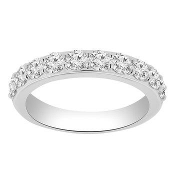 1ct tw Diamond Anniversary Ring in 14K White Gold