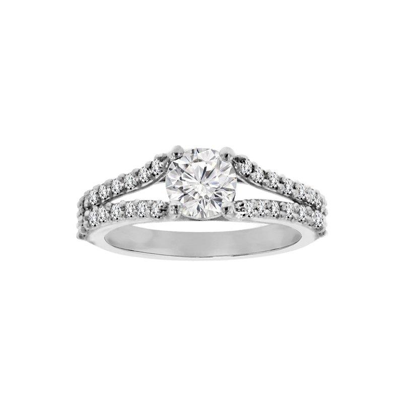 1 3/4ct tw NewBorn Lab Created Diamond Engagement Ring in Platinum