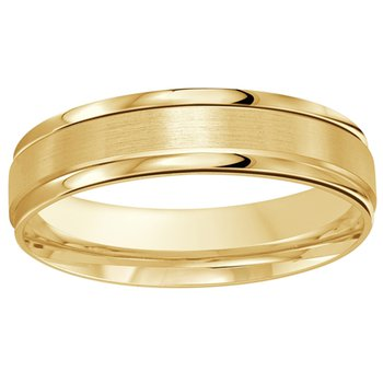 5mm Wedding Ring in 10K Yellow Gold