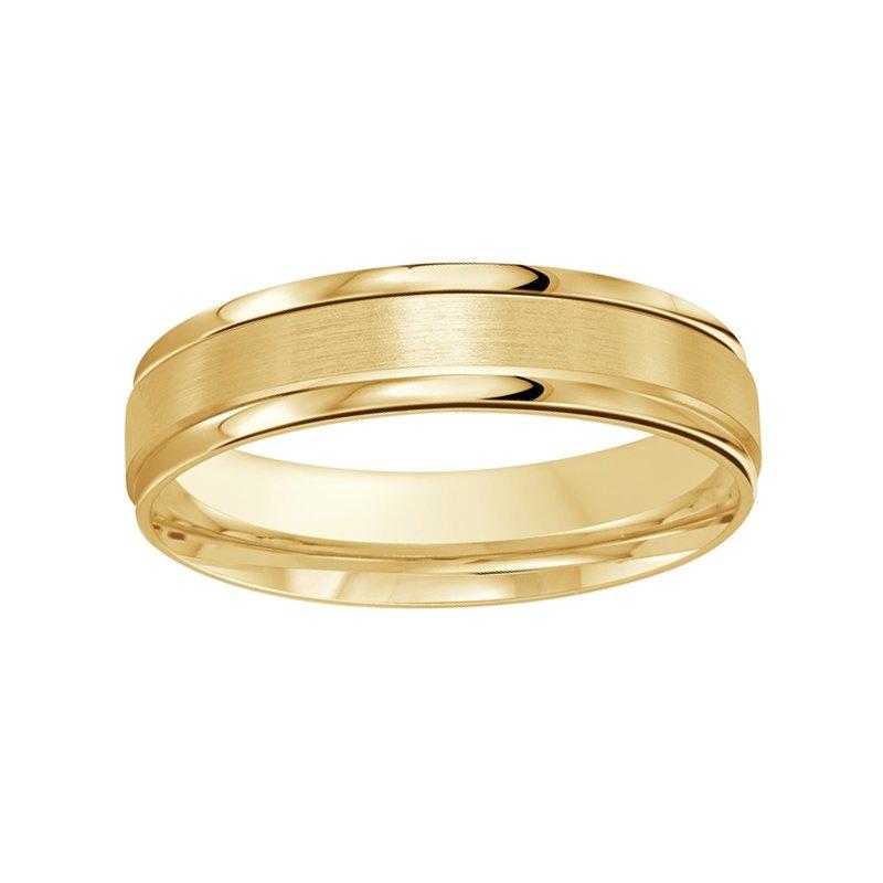 5mm Wedding Ring in 10K Yellow Gold