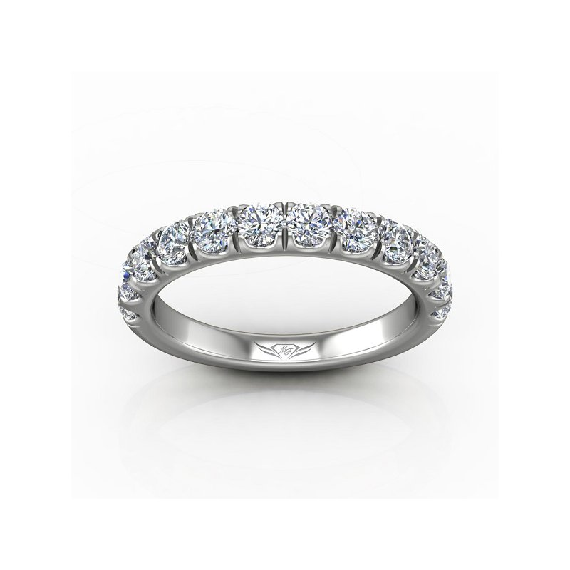 1 1/3ct tw Diamond Wedding Ring in 14K White Gold