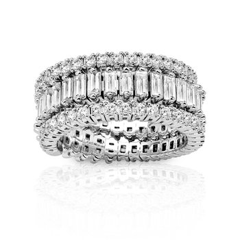 2ct tw Diamond Fashion Ring in 14K White Gold