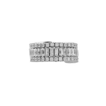 2ct tw Diamond Fashion Ring in 14K White Gold