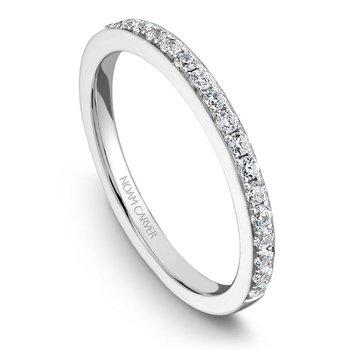 1/5ct tw Diamond Wedding Ring in 14K White Gold
