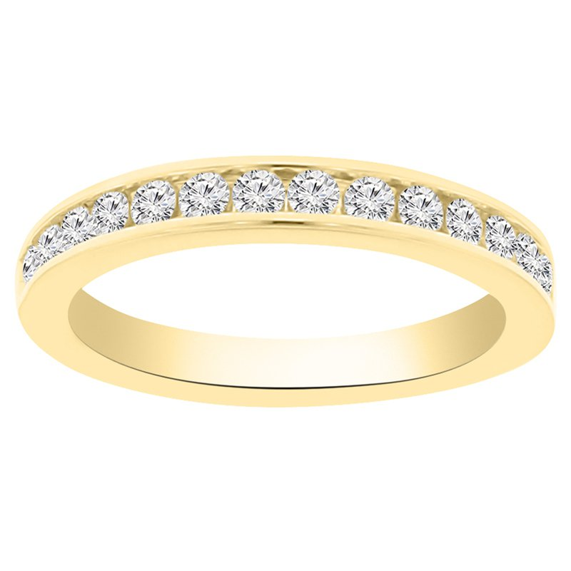 1/2ct tw Diamond Stackable Ring in 14K Yellow Gold