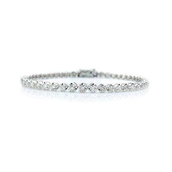 2ct tw Diamond Tennis Bracelet in 14K White Gold