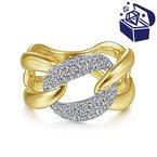 Treasure Hunt Value 1/2ct tw Diamond Fashion Ring in 14K Yellow Gold