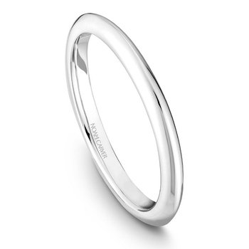 Wedding Ring in 14K White Gold