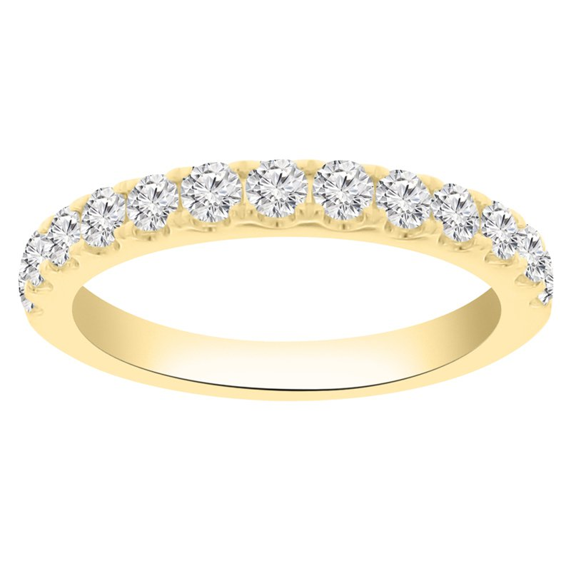 3/4ct tw Diamond Stackable Ring in 14K Yellow Gold