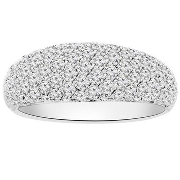 1 1/2ct tw Diamond Fashion Ring in 14K White Gold