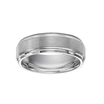 7mm Wedding Ring in Tungsten