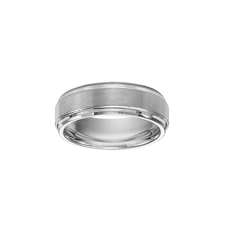 7mm Wedding Ring in Tungsten