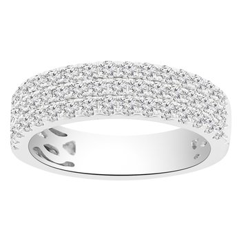 1ct tw Diamond Fashion Ring in 14K White Gold
