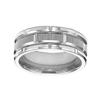8mm Wedding Ring in Tungsten
