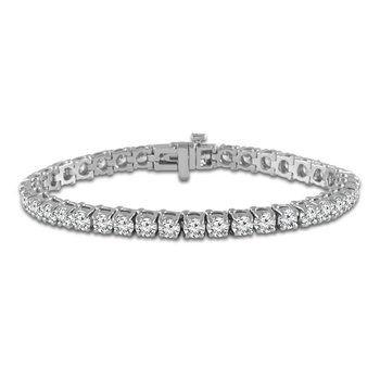 10ct tw Diamond Tennis Bracelet in 14K White Gold