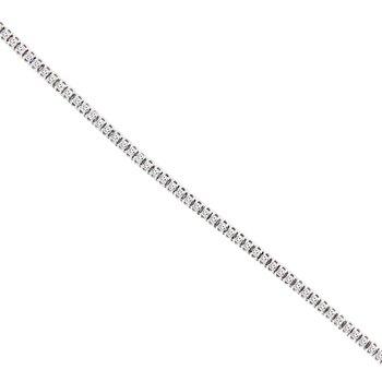 1ct tw Diamond Tennis Bracelet in 14K White Gold