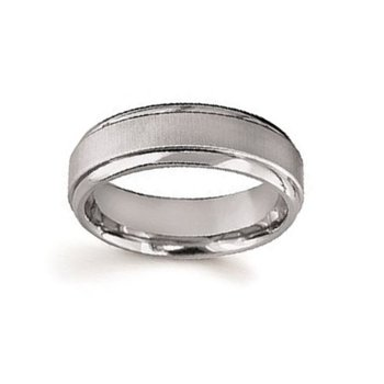 7mm Wedding Ring in Titanium