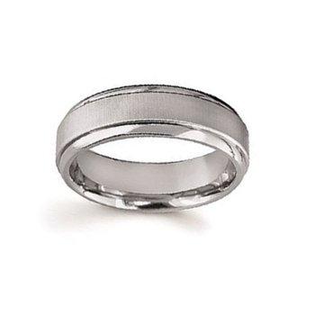7mm Wedding Ring in Titanium