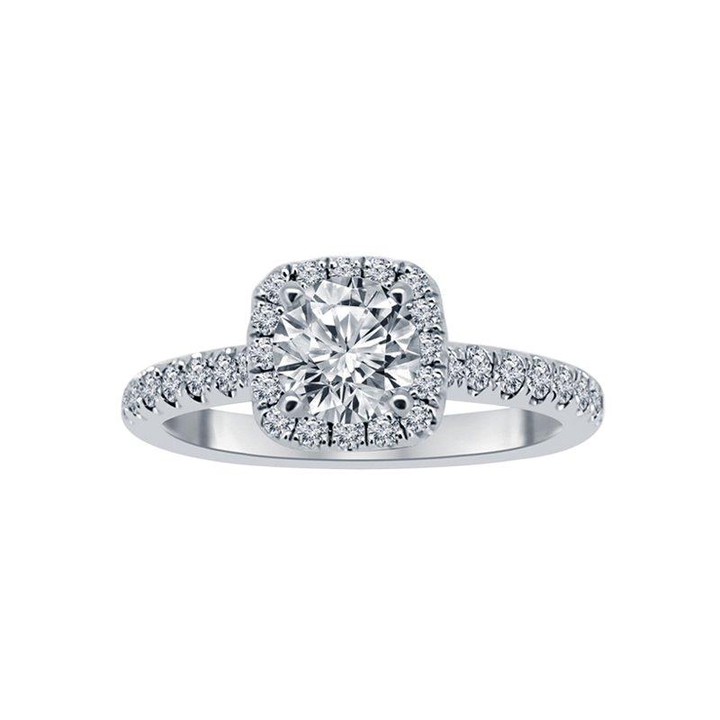7/8ct tw NewBorn Lab Created Diamond Engagement Ring in 14K White Gold