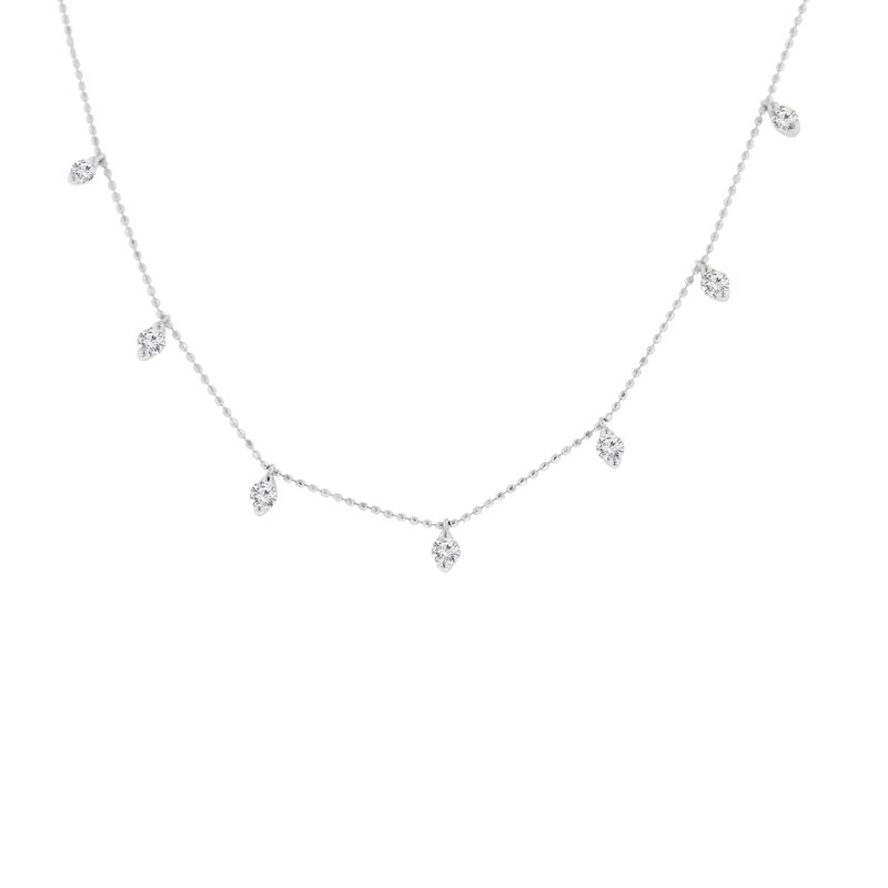 1ct tw Diamond Fashion Necklace in 18K White Gold