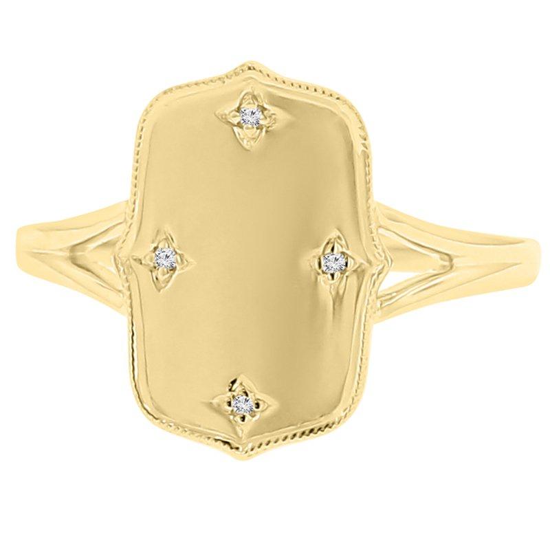 .01ct tw Diamond Fashion Ring in 10K Yellow Gold