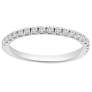 1/4ct tw NewBorn Lab Created Ring in 14K White Gold