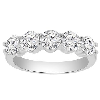 2ct tw NewBorn Lab Created Diamonds in 14K White Gold