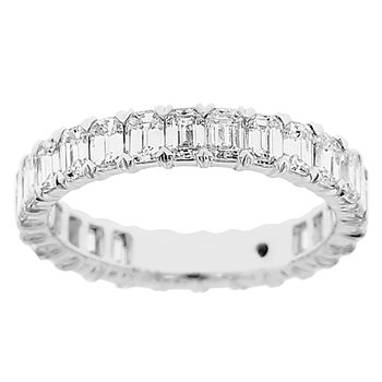 2 3/4ct tw Diamond Eternity Ring in 14K White Gold