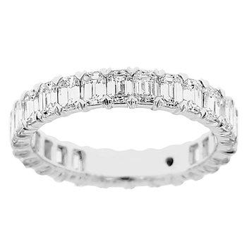 2 3/4ct tw Diamond Eternity Ring in 14K White Gold