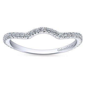 1/4ct tw Diamond Wedding Ring in 14K White Gold