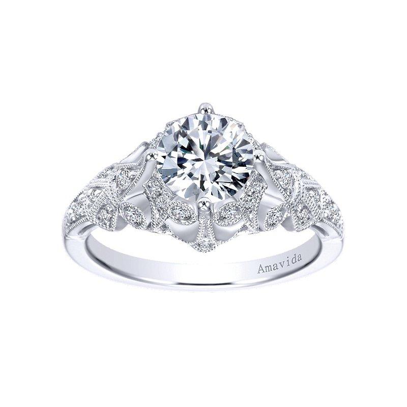 1 1/4ct tw Diamond Engagement Ring in Platinum