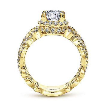 1 3/4ct tw Diamond Engagement Ring in 14K White Gold