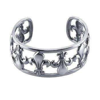 Fleur de Lis Bracelet in Sterling Silver