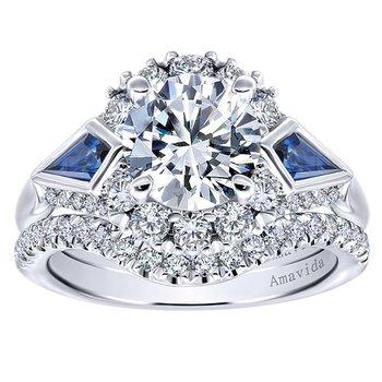 1/4ct tw Diamond Wedding Ring in 18K White Gold