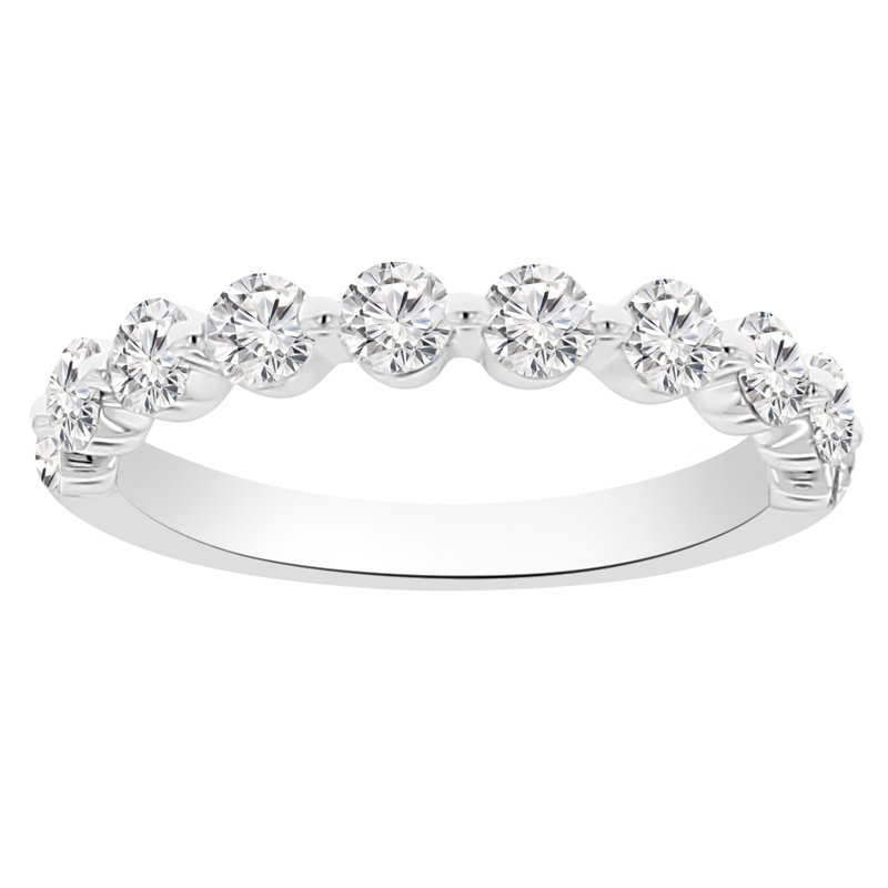 1ct tw Diamond Stackable Ring in 14K White Gold