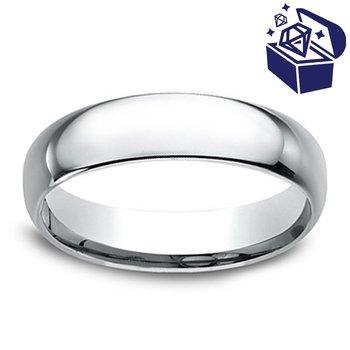 Treasure Hunt Value 5mm Wedding Ring in Palladium