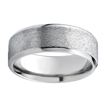 8mm Wedding Ring in Titanium