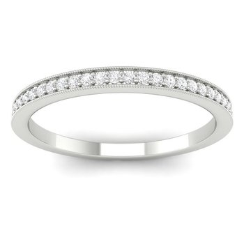 1/8ct tw Diamond Anniversary Ring in 14K White Gold
