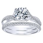 1 1/8ct tw Diamond Engagement Ring in 14K White Gold