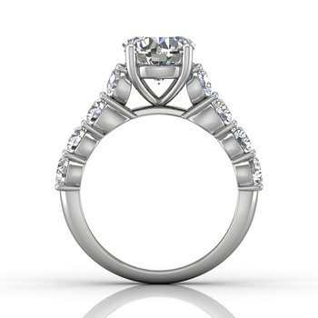 3 1/4ct tw Diamond Engagement Ring in 14K White Gold