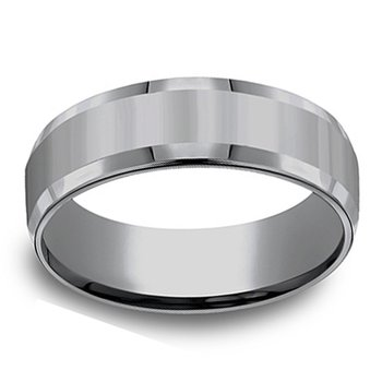 7mm Wedding Ring in Tantalum