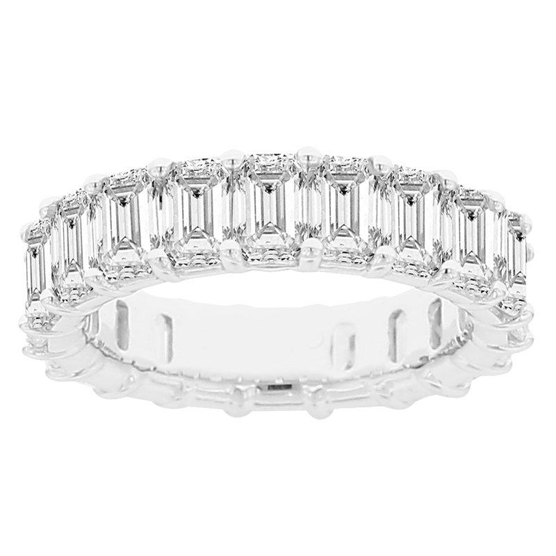 5 7/8ct tw Diamond Eternity Ring in 14K White Gold