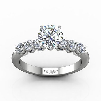 1 5/8ct tw Diamond Engagement Ring in 14K White Gold